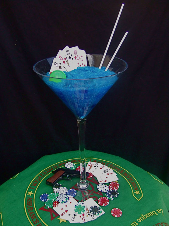 Glass poker